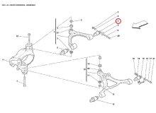 他の写真1: ローワーショック用ブッシュ(430/360/355用)/2個セット