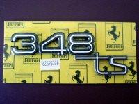 """""""348TS""""マーク リアエンブレム(348)"""