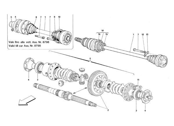 画像1: 014 プロテクション・リプレースメント・セット-ギアボックス・サイド/348 TB(1993)